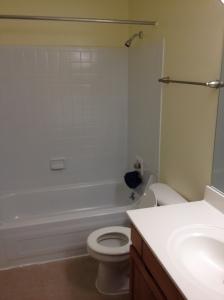 The full bath upstairs.