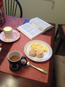Breakfast and Bible reading to kick off Christmas!